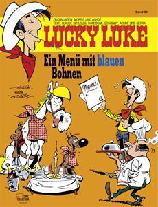 """""""Lucky Luke - Ein Menü mit blauen Bohnen"""" (Band 92) - Comic-Feinkost aus dem Wilden Westen ab 01. Oktober 2014 im Handel!"""