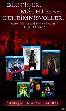 Action-Horror- und Science-Fiction-Klassiker in High