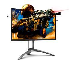 AOC präsentiert Highend-Gaming-Monitor mit QHD, HDR, 240 Hz und 0,5 ms MPRT