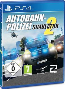 Autobahnpolizei Simulator 2 für PS4 - Aerosofts erster Konsolentitel erscheint heute digital und als Box