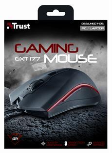 Beidhändig bedienbare Pro-Gaming-Maus mit präzisem Lasersensor