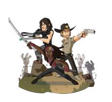 Brawlhalla | Michonne, Rick Grimes und Daryl Dixon aus AMCs The Walking Dead, sind ab sofort als Epic Crossovers verfügbar