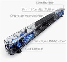 Denon DHT-S514 - Soundbar technische Grafik
