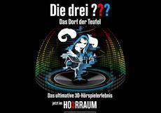 """Die drei ??? - Das Dorf der Teufel Deutschlands beliebteste Detektive ermitteln wieder """"3D"""" in Planetarien"""