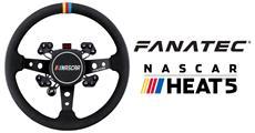 Fanatec - New partnership with NASCAR Heat