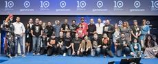 Gamescom Award, Gewinner Gruppenbild, Kondrad-Adenauer-Saal, Congress Centrum Nord