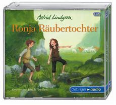 """HÖRkulino<sup>®</sup> 2015 für """"Ronja Räubertochter"""" gelesen von Ulrich Noethen"""