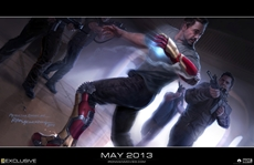 IRON MAN 3 - Exklusives Concept Art Image zum Film