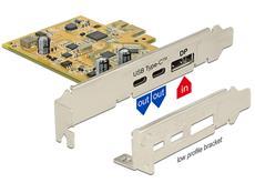 Marktneuheit Delock PCIe Karte mit USB 3.1 und DP Alt Mode ab sofort erhältlich