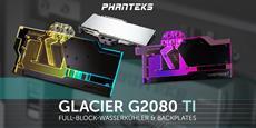 Neue Wasserkühler, Backplates & PCIe-Riser von PHANTEKS