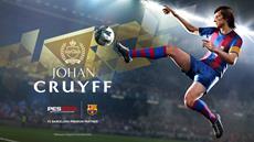 Niederländische Legende Johan Cruyff kehrt zurück auf den Rasen in PRO EVOLUTION SOCCER 2018