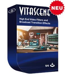 proDAD VitaScene V4 PRO bietet über 1.400 professionelle Übergangseffekte und Videofilter