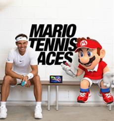 Rafael Nadal und Mario liefern sich im neuen Trailer zu Mario Tennis Aces den ultimativen Tennis-Showdown!