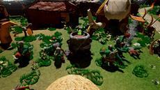 Rayon Riddles - Rise of the Goblin King: Spaßiges Adventure mit Spielfiguren-Look heute für PlayStation 4 veröffentlicht