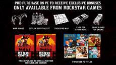 Red Dead Redemption 2 ab sofort im Vorverkauf über den Rockstar Games Launcher