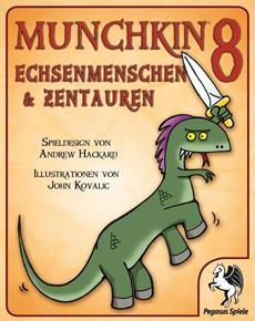 Review (Gesellschaftsspiel): Munchkin 8 – Echsenmenschen und Zentauren