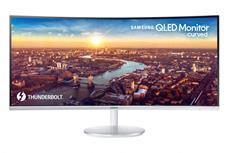 Samsung stellt auf der CES 2018 den weltweit ersten QLED Curved Monitor mit Thunderbolt-3-Anbindung vor. Das Gerät wird vom 9. bis 12. Januar am Samsung Stand