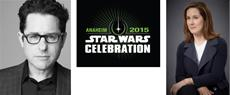 STAR WARS Celebration in Anaheim mit J.J. Abrams und Kathleen Kennedy