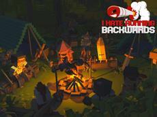 Stars und Sternchen im Crossover-Geballer: I Hate Running Backwards von Devolver Digital für PS4, PC und Xbox