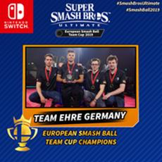 Team Ehre Germany siegt im Finale des European Smash Ball Team Cup 2019