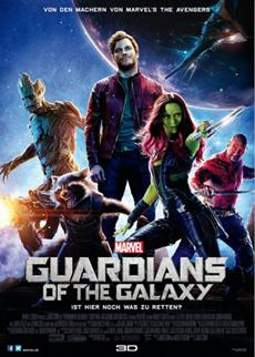 """Triumph für Marvels ungewöhnliche Helden: """"GUARDIANS OF THE GALAXY"""" mit Rekordstart"""