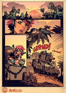 World of Tanks Blitz- und Tank Girl-Universen kollidieren
