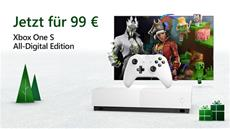 Xbox Black Friday: Xbox One S All-Digital Edition für 99 Euro