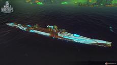Zu Halloween geht es in World of Warships auf Tauchstation