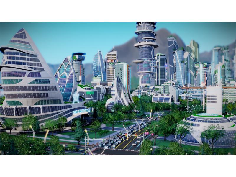 Erweiterungspack Simcity Städte Der Zukunft Erscheint Am 14