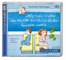 """""""Als mein Vater die Mutter der Anna Lachs heiraten wollte"""" von Christine Nöstlinger auf der hr2-Hörbuchbestenliste Mai 2013"""