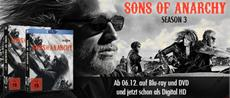 """Anarchy on the road: Sons of Anarchy - Staffel 3"""