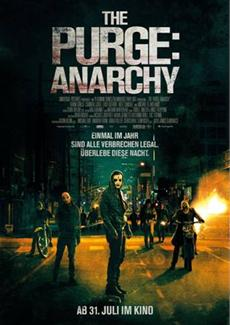 """""""THE PURGE: ANARCHY"""" - Dritter deutscher Trailer und Hauptplakat veröffentlicht"""