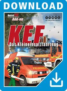 """Aerosoft gibt Release-Datum von Notruf 112 Add-on """"KEF - Das Kleineinsatzfahrzeug"""" bekannt"""