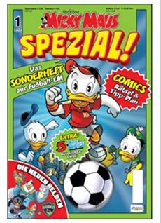 """Anpfiff in Entenhausen! – Das """"Micky Maus SPEZIAL!"""" begleitet Entenhausen-Fans durch den Fußballsommer"""