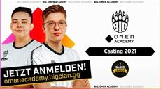 BIG sucht mit OMEN die besten deutschen Talente für das neue BIG. OMEN Academy Team