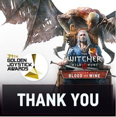 CD PROJEKT RED gewinnt mehrere Golden Joystick Awards