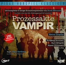 """CD-Veröffentlichung der 5-teiligen Kriminalhörspielreihe """"Prozessakte Vampir"""" am 21.06.2013"""
