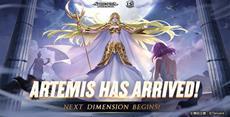 Die neue Göttin Artemis erscheint in Saint Seiya Awakening: Knights of The Zodiac