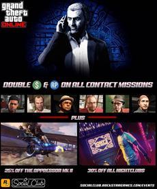 Diese Woche in GTA Online: Boni auf Kontaktmissionen, Kundenaufträge und Stuntrennen, Rabatte & mehr