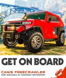 Diese Woche in GTA Online: Canis Freecrawler, Gegner-Modus Trading Places (Remix), Boni & Rabatte