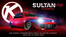 Diese Woche in GTA Online: der Karin Sultan RS Classic, neue tägliche Sammelobjekte, 2x-Boni für Autowerkstatt-Kundenaufträge & mehr