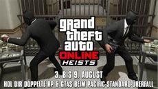 Diese Woche: Sprengt die Bank mit doppelten GTA$ & RP beim Pacific-Standard-Überfall (3. - 9. August)