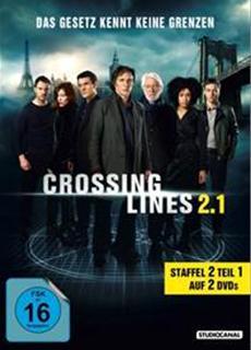 """DVD/BD-VÖ   CROSSING LINES""""-Team ermittelt wieder europaweit: STUDIOCANAL veröffentlicht 2. STAFFEL"""