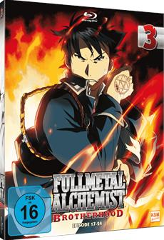 DVD/BD-V&Ouml; | Fullmetal Alchemist: Brotherhood<sup>&trade;</sup> Volume 3 (Episode 17-24)