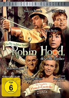 "DVD-Veröffentlichung des 2-Teilers ""Robin Hood, der edle Räuber"" am 16.11.2012"