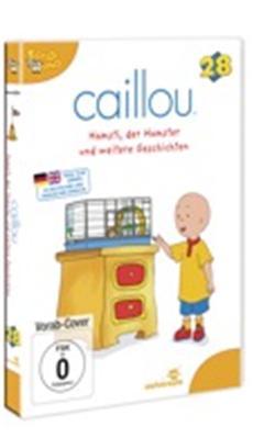 DVD-VÖ | CAILLOU 28 – Hamsti, der Hamster und weitere Geschichten