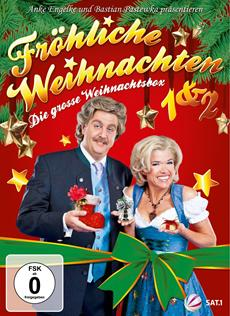 """Bastian Pastewka & Anke Engelke präsentieren ab dem 30.11.12 """"Fröhliche Weihnachten 1 & 2"""" auf DVD"""