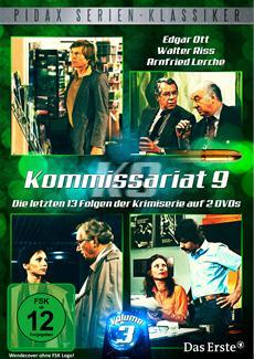"""DVD-Veröffentlichung der letzten 13 Folgen der Krimiserie """"Kommissariat 9, Vol. 3"""" am 27.06.2014"""