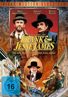 """DVD-Veröffentlichung des Westerns """"Die letzten Tage von Frank und Jesse James"""" am 27.01.2015"""