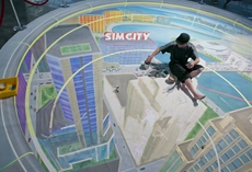 EA präsentiert SimCity 3D-Kunstwerk auf der gamescom 2012